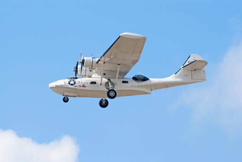 Download PBY Catalina seaplane editorial stock image. Image of airplane - 30701689