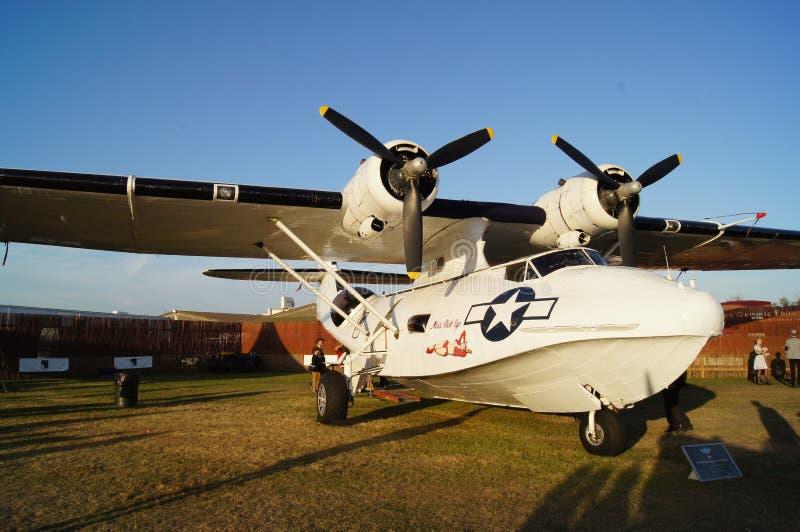 PBY konsolidujący samolot Catalina obraz stock