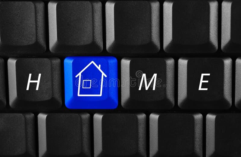 PC à la maison images libres de droits