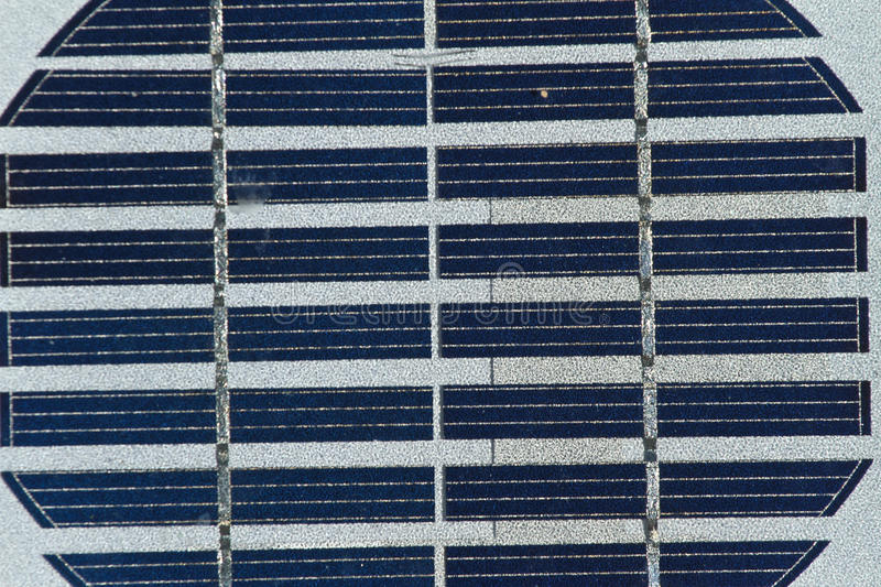 PC cell. PV celles details, close up picture. Photovoltaics PV is the field of technology and research related to the application of solar cells for energy by royalty free stock image