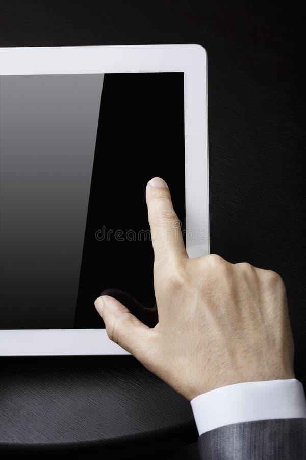 PC da tabuleta fotografia de stock