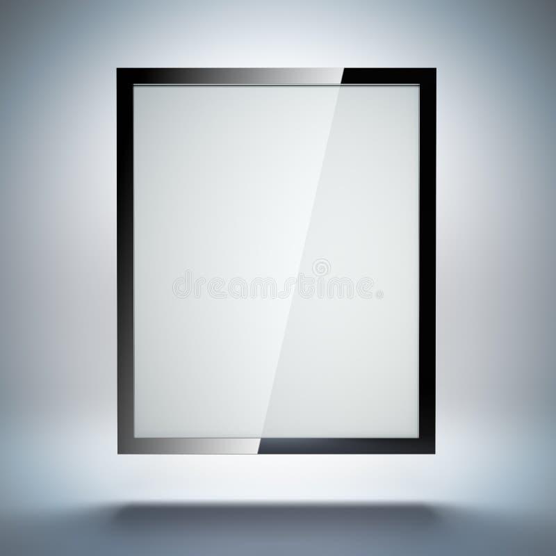 PC De La Tableta O Marco Electrónico De La Foto Stock de ilustración ...