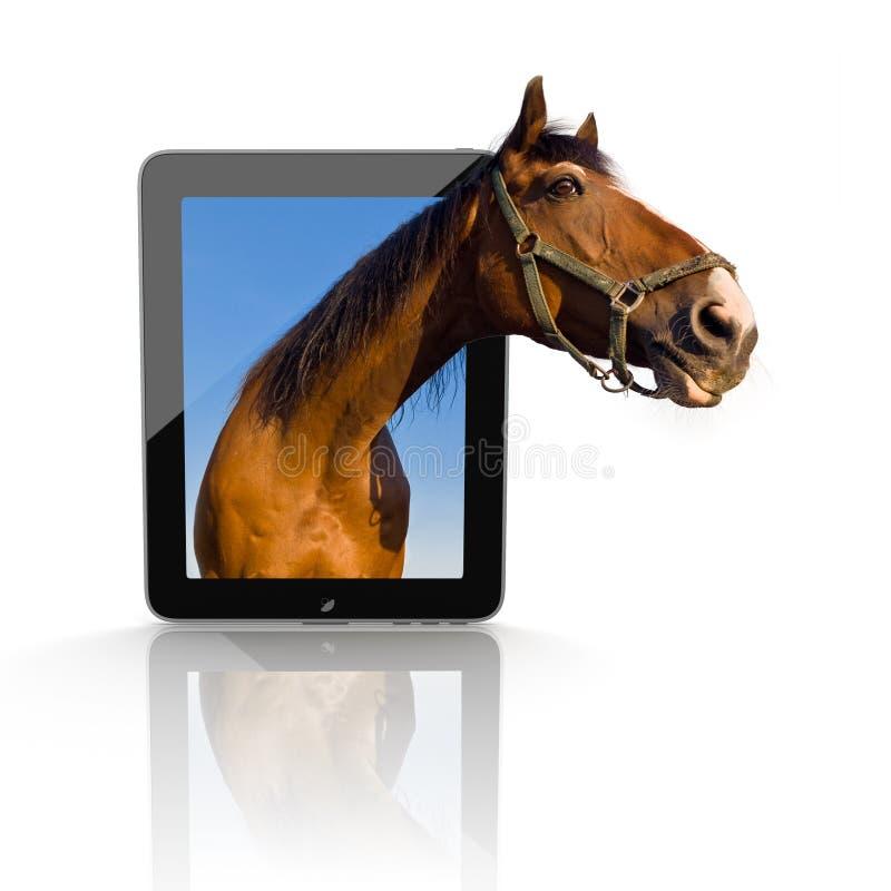 PC de la tablette 3d illustration stock