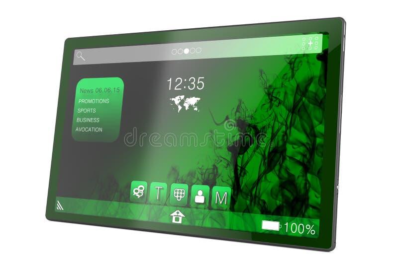 PC de tablette illustration libre de droits