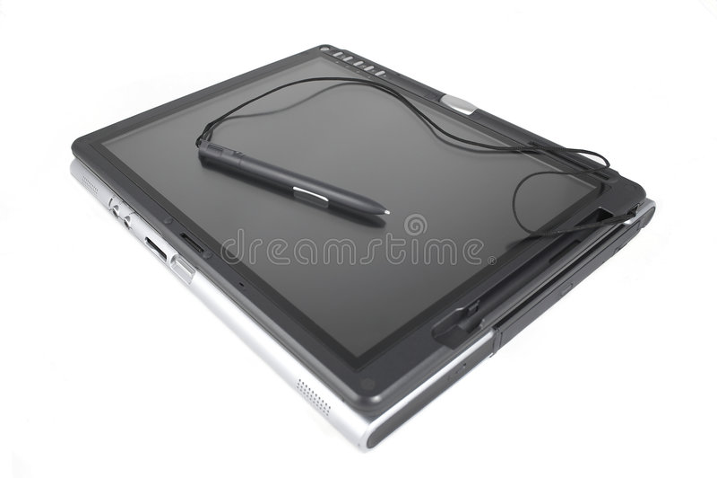 PC de tablette photo libre de droits