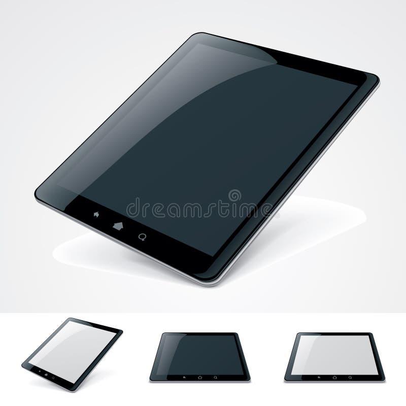 PC générique de tablette de vecteur illustration libre de droits