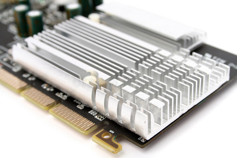 Download PC Hardware Video Card Royalty Free Stock Photos - Image: 4433478