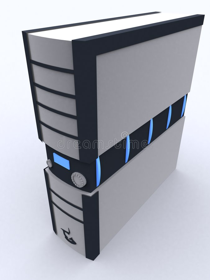 PC-Kontrollturm vektor abbildung