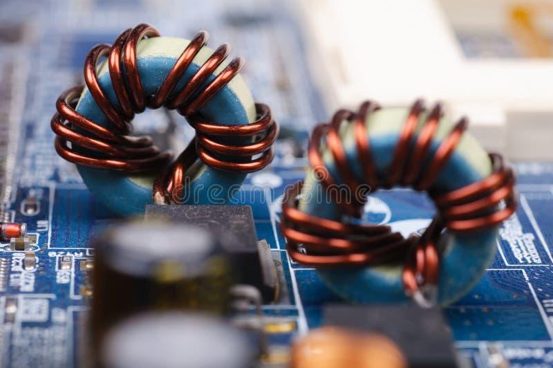 PC Mainboard fotografia de stock