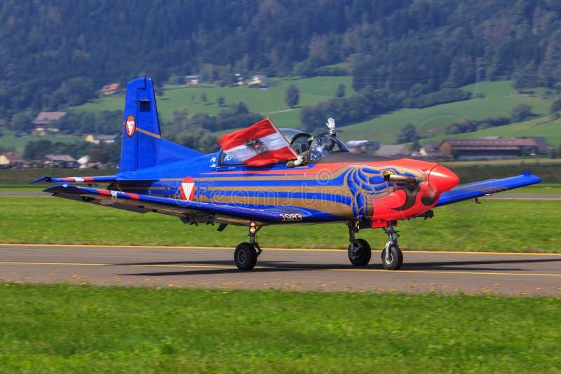 PC-7 Pilatus 免版税图库摄影