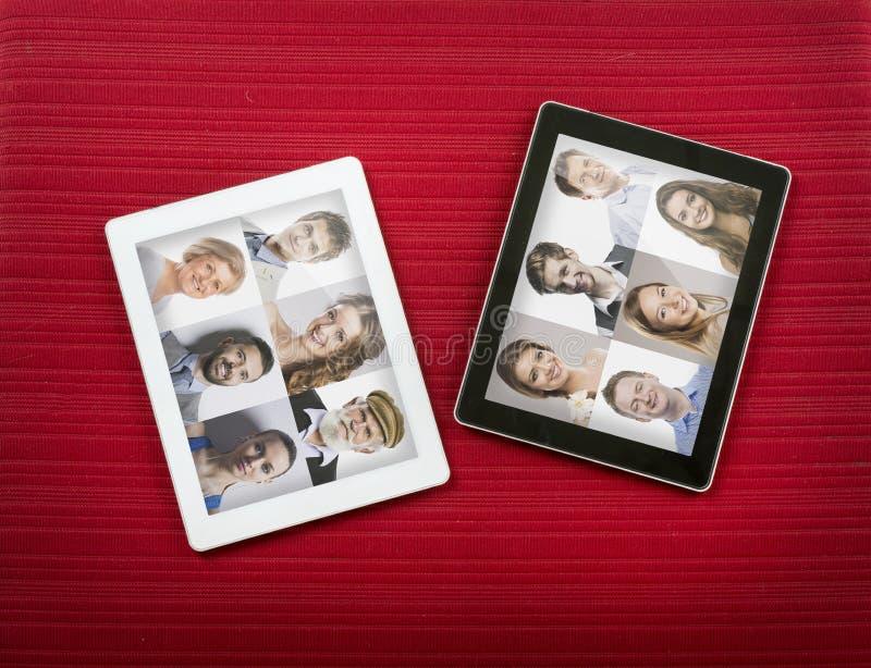PC-tablet royalty-vrije stock foto's