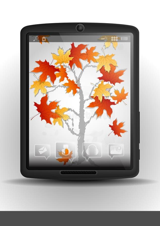 Pc & telefono cellulare della compressa. royalty illustrazione gratis