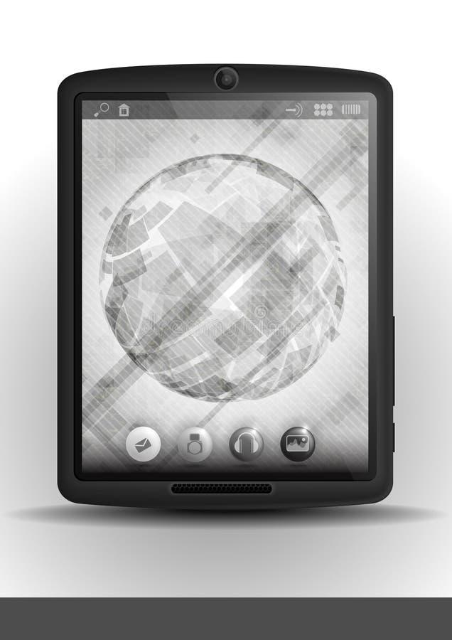 Pc & telefono cellulare della compressa. illustrazione di stock