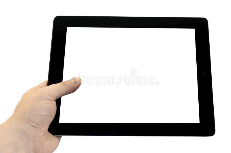 Download PC Vuoto Della Compressa A Disposizione Isolato Immagine Stock - Immagine di background, portatile: 56891691