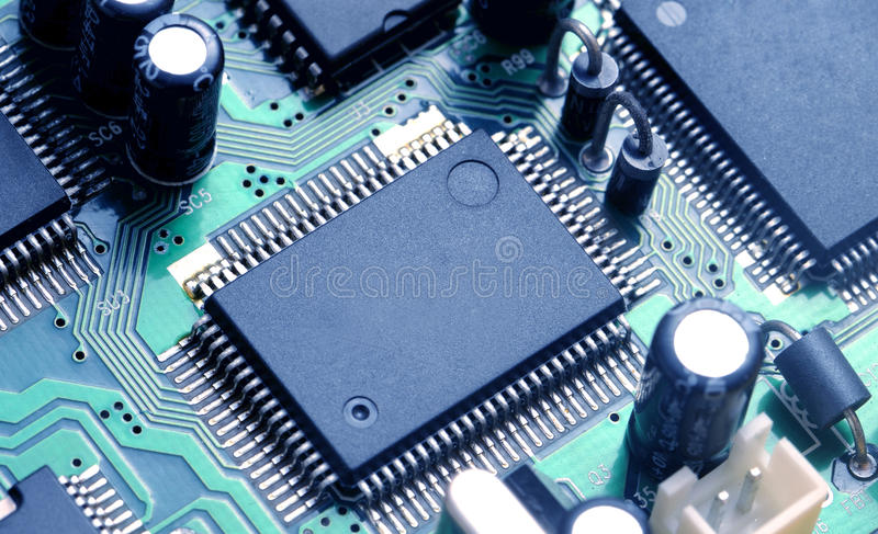 Download PCB board stock image. Image of connection, circuit, hardware - 10760815