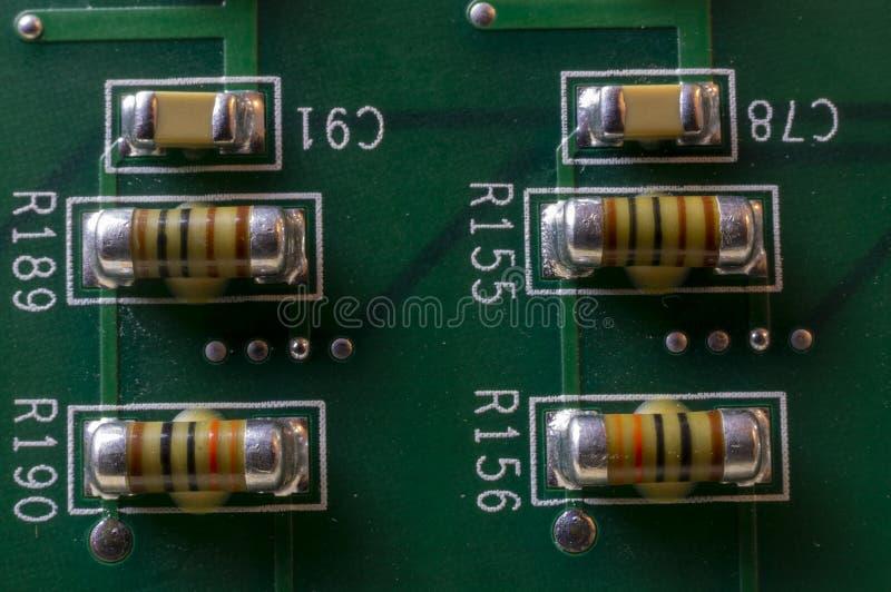Pcb-kondensator royaltyfria foton