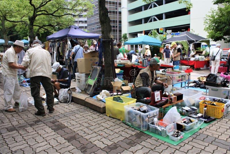 Pchli Targ w Japonia zdjęcie royalty free