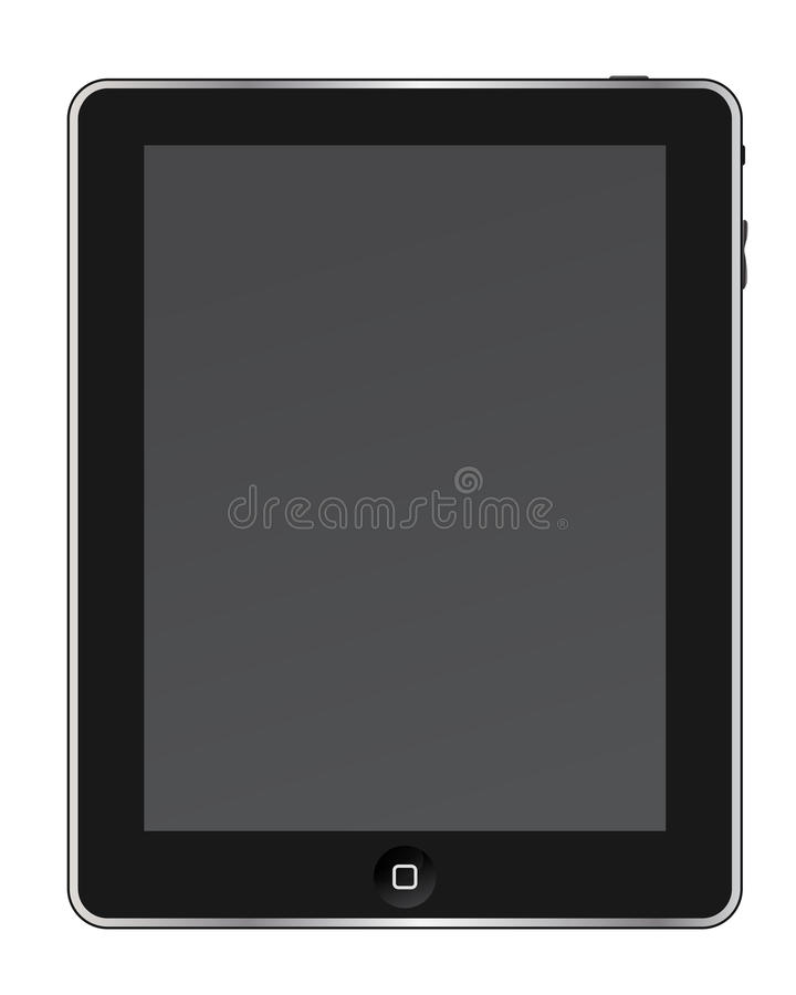 PCtablet stock illustrationer