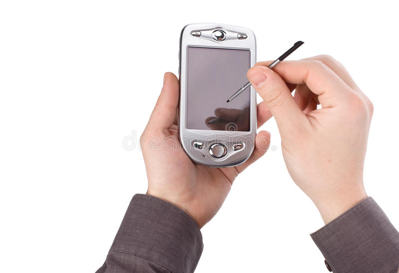 Download Pda stock photo. Image of assistant, graphite, screen - 13276848