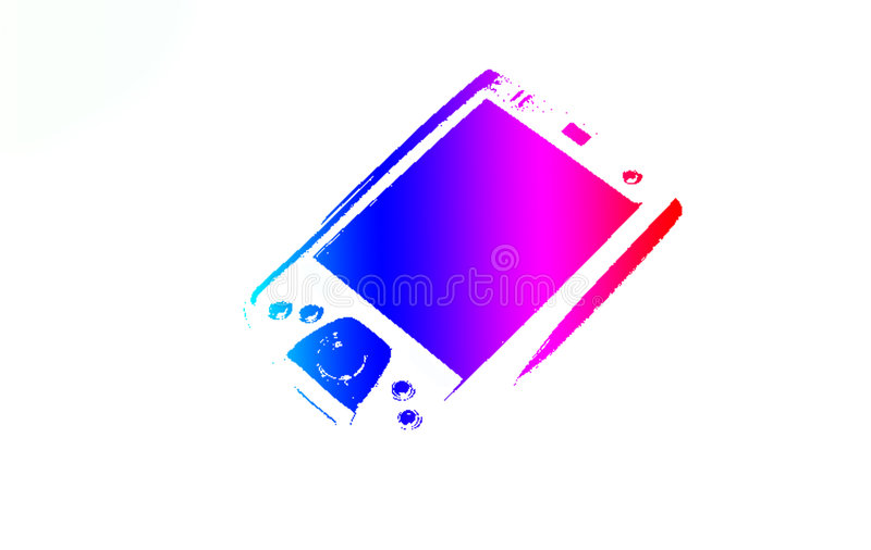 Download PDA 3 stock illustration. Image of held, micro, computers - 70387