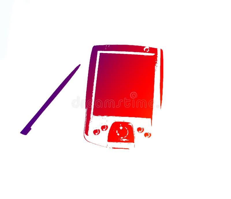 Download PDA 4 illustration stock. Illustration du spéc, électronique - 70388
