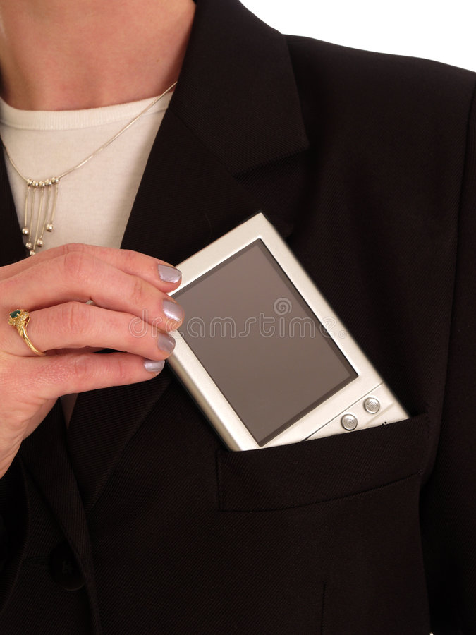 Download PDA stock image. Image of held, business, woman, palmtop - 814071