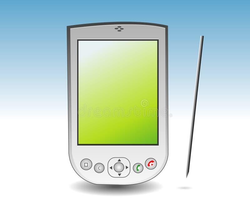 PDA lizenzfreie abbildung