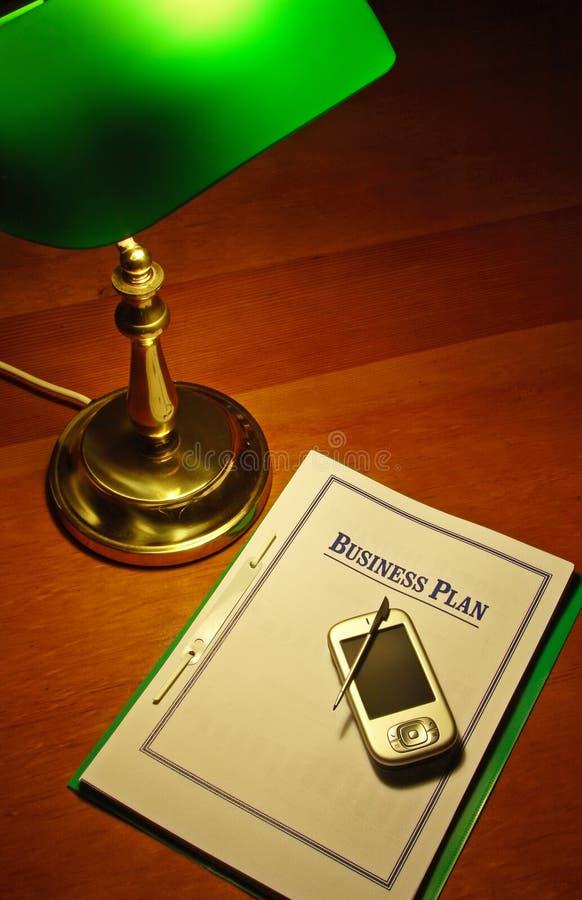 PDA Business Plan #01 stock photography