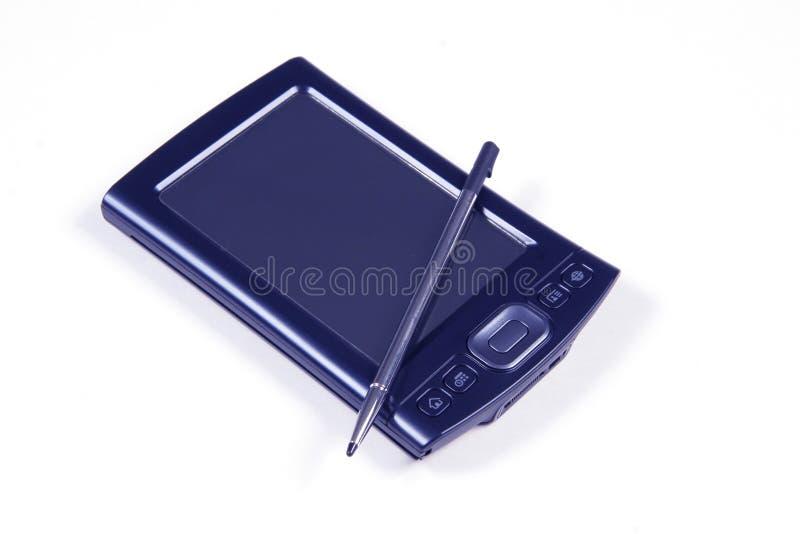 PDA et crayon lecteur photos libres de droits