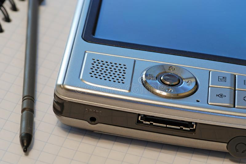 PDA, ordenador micro imagen de archivo libre de regalías