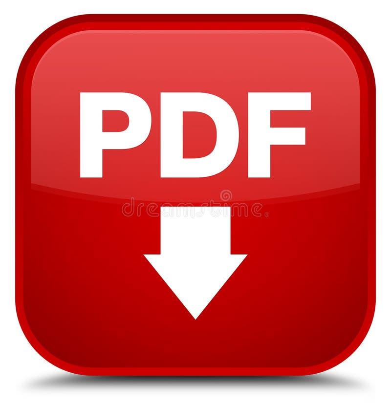 PDF下载象特别红场按钮 皇族释放例证