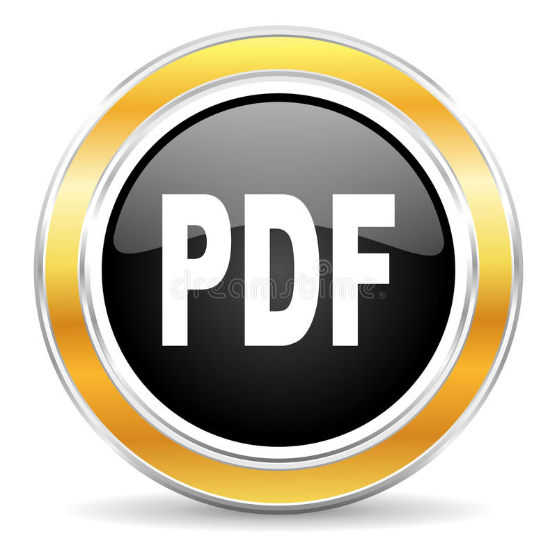 pdf icon royalty free stock photography