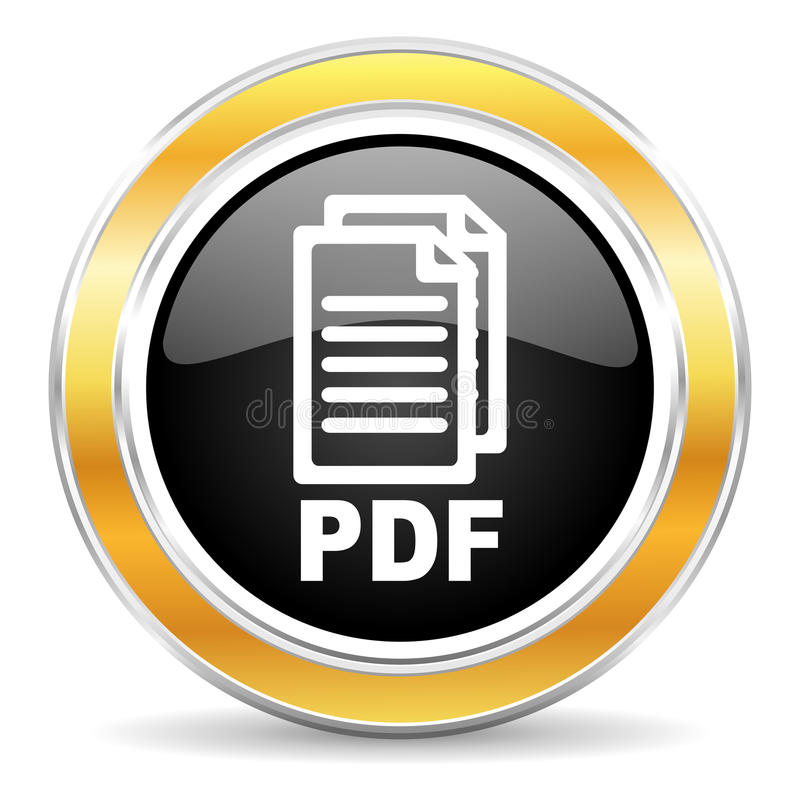 pdf icon, royalty free stock photography