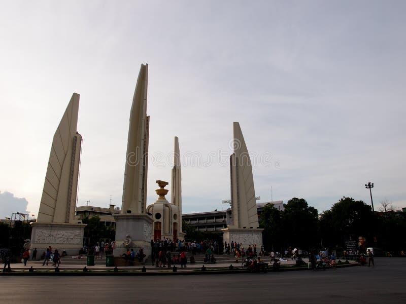 PDRC泰国抗议者 免版税库存图片