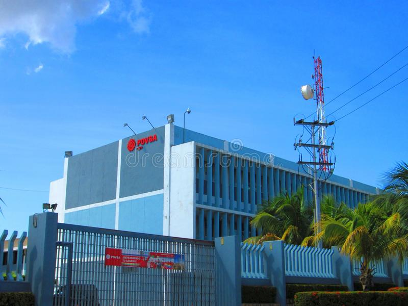 PDVSA office royalty free stock image