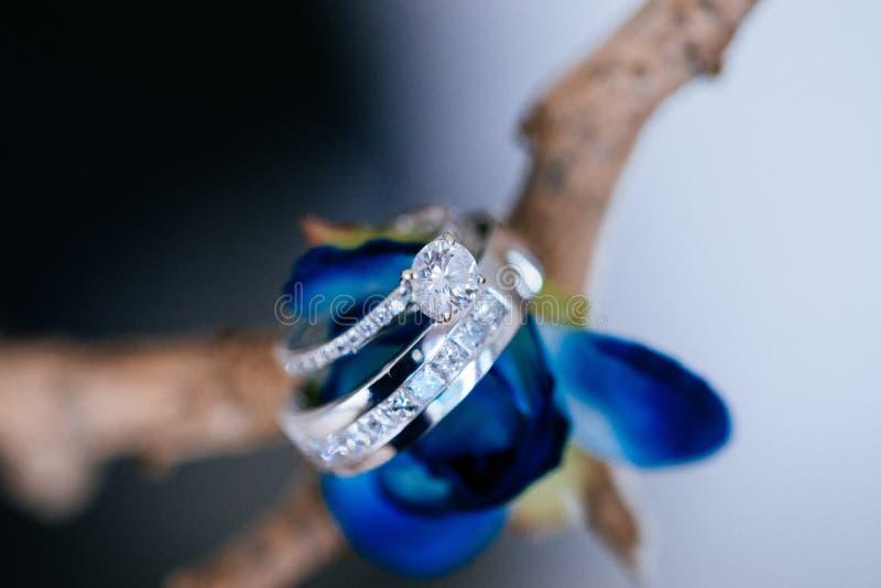 Peça central nupcial do casamento fotos de stock