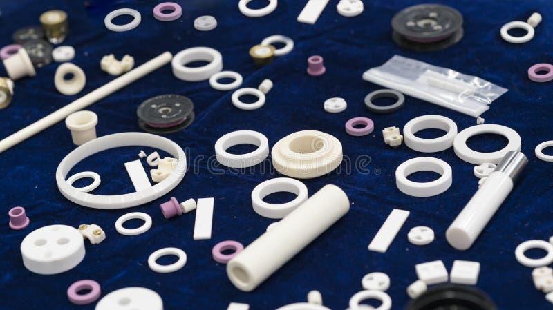 Peça cerâmica para o hardne alto da máquina, o automotivo, da válvula e da bomba imagem de stock royalty free