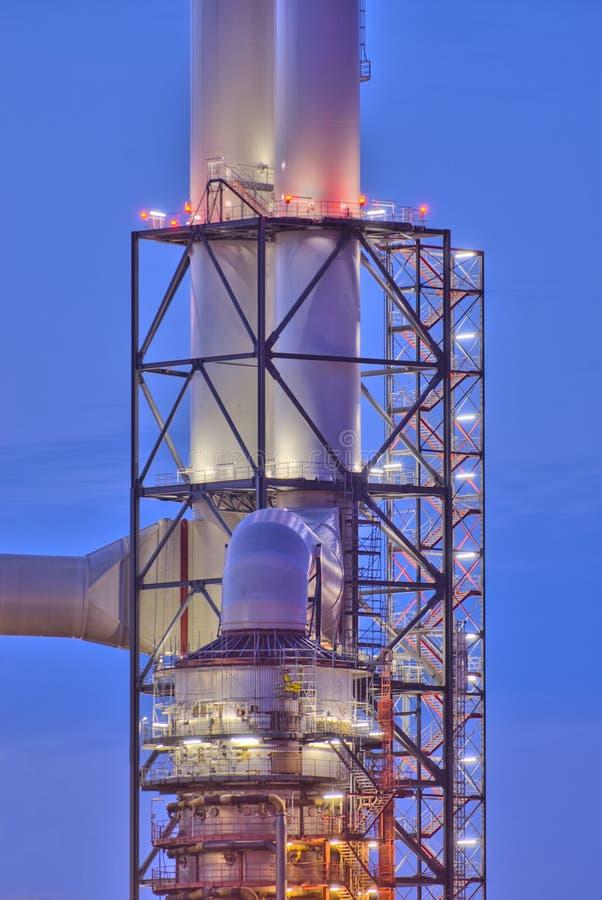 Peça de uma central energética imagem de stock
