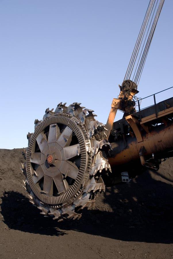 Peça do escavador do rotor imagens de stock