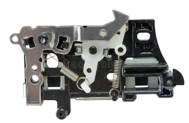 Peça do gravador de cassetes video retro foto de stock