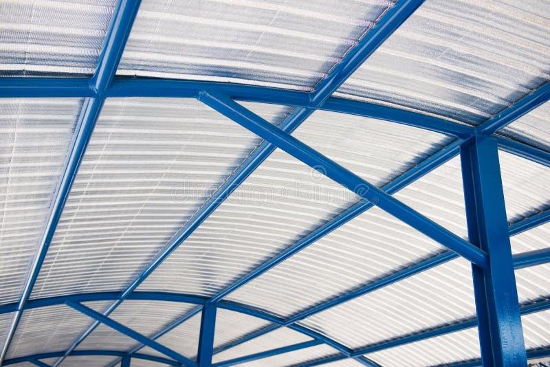 Peça do material de isolação do telhado do housetop foto de stock royalty free