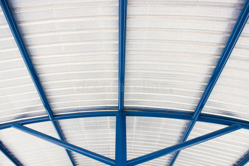 Peça do material de isolação do telhado do housetop fotografia de stock royalty free