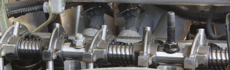 Peça do motor de automóveis imagem de stock