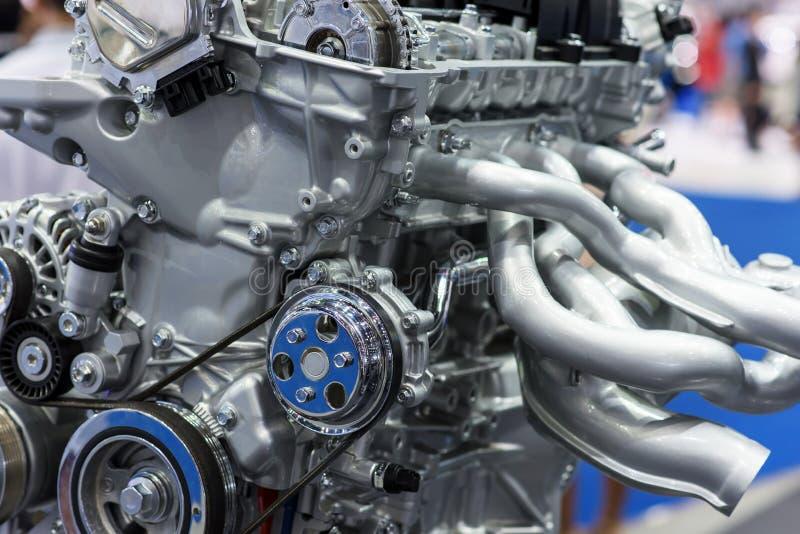 Peça do motor de automóveis moderno foto de stock