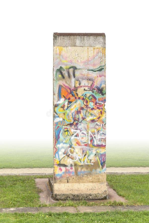 Peça do muro de Berlim fotos de stock