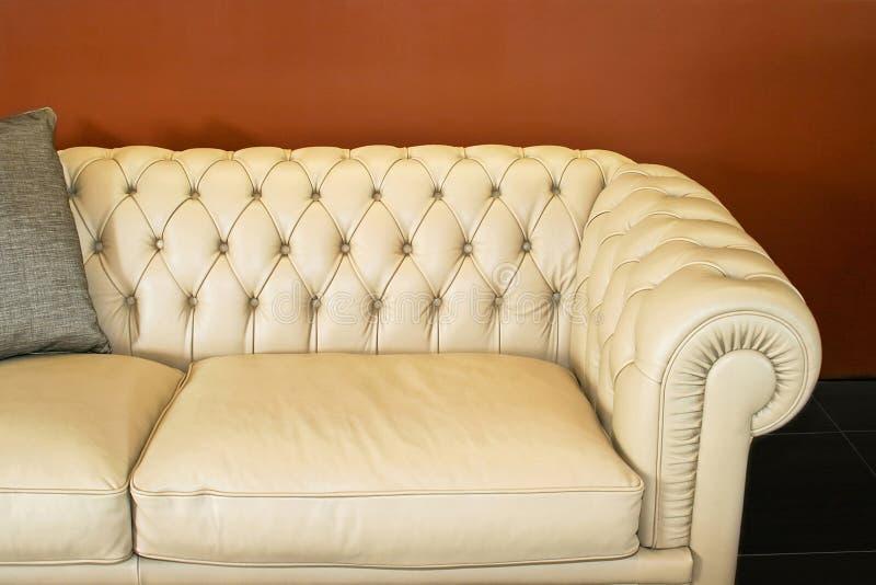 Peça do sofá fotografia de stock royalty free
