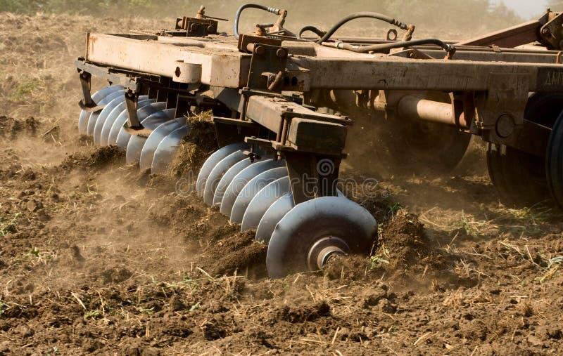 Peça do trator agricultural imagens de stock
