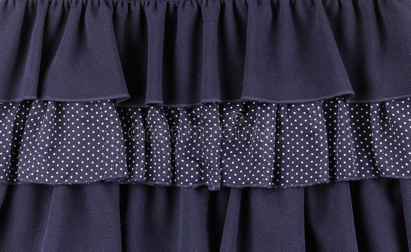 Peça do vestido do tule foto de stock