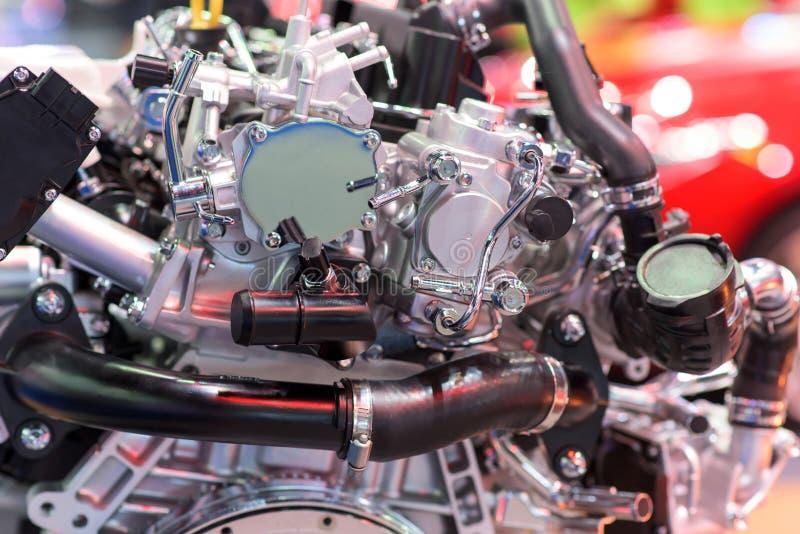 Peça nova do motor de automóveis imagens de stock