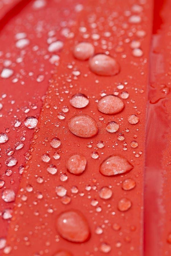 peça vermelha do guarda-chuva fotografia de stock